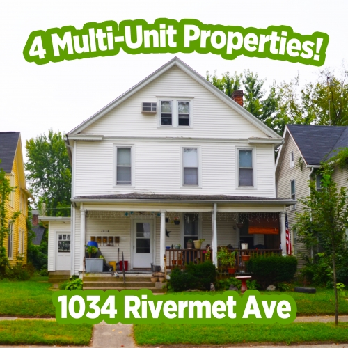 4 multi-unit rental properties in Fort Wayne