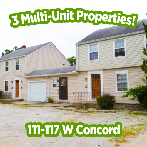3 multi-unit rental properties in Fort Wayne