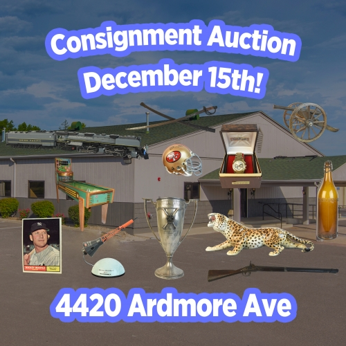Scheerer McCulloch Auctioneers December 2018 Consignment Auction