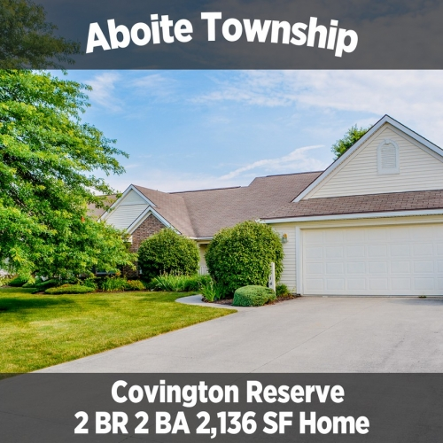 Beautiful 2 Bedroom 2 Bathroom Home in Aboite Township