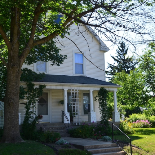 Well maintained historic 4 bedroom, 2 full bath home & detached garage in Wabash, Indiana.