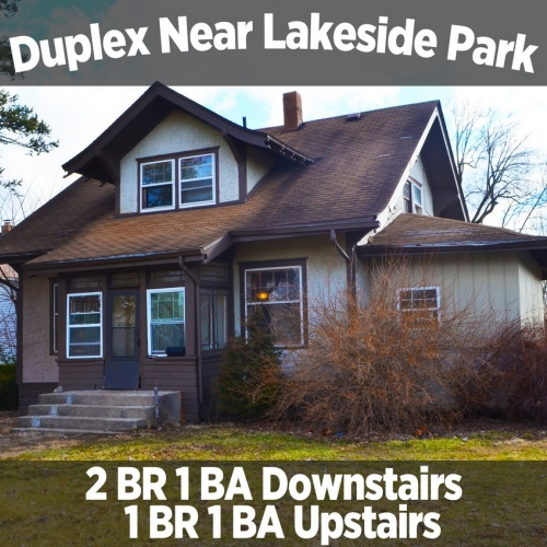 Charming Duplex Home Near Lakeside Park