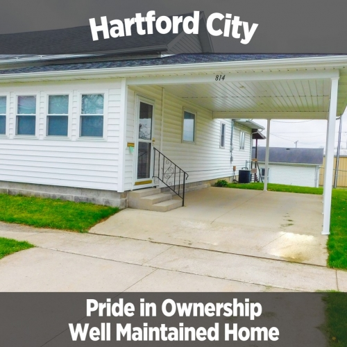 Cozy 2 Bedroom Home in Hartford City, IN & 2012 Ford Focus SE