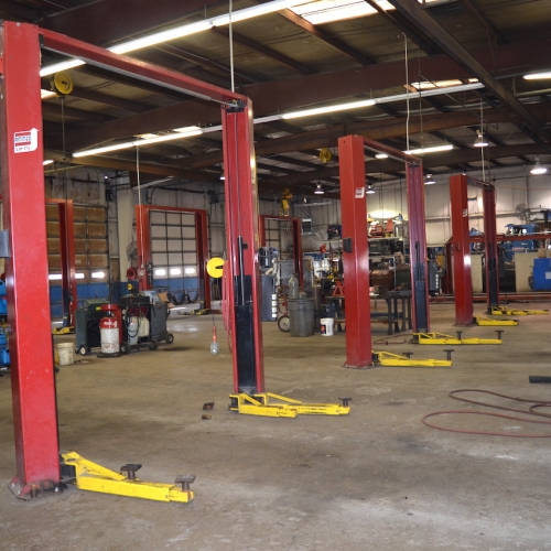 Automotive Lifts and Store Front Auction