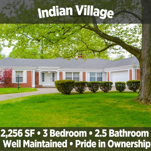 Beautiful 3 bedroom, 2.5 bath home in Indian Village