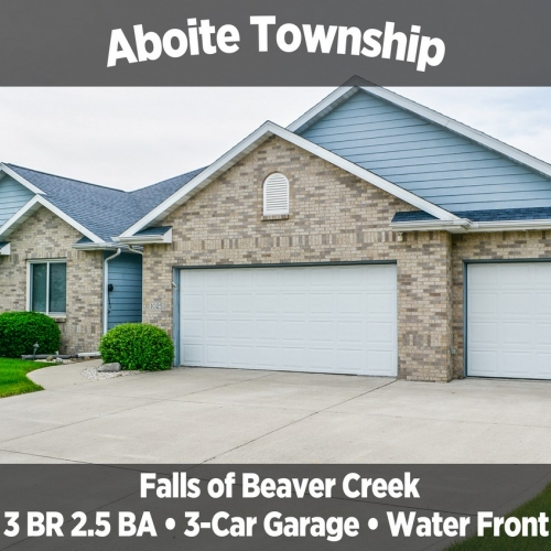 Beautiful 3 Bedroom, 2.5 Bathroom Home in Falls of Beaver Creek, Aboite Township