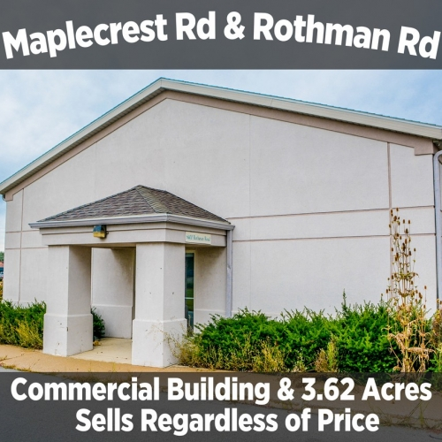 3,760 SF COMMERCIAL BUILDING & 3.62 ACRES