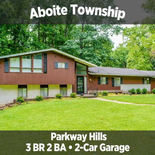 Beautiful 3 Bedroom, 2 Bathroom Home in Parkway Hills, Aboite Township & 1999 Lincoln Town Car.