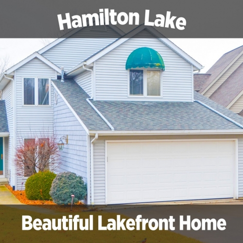 Beautiful 2 bedroom, 2 bath home on Hamilton Lake