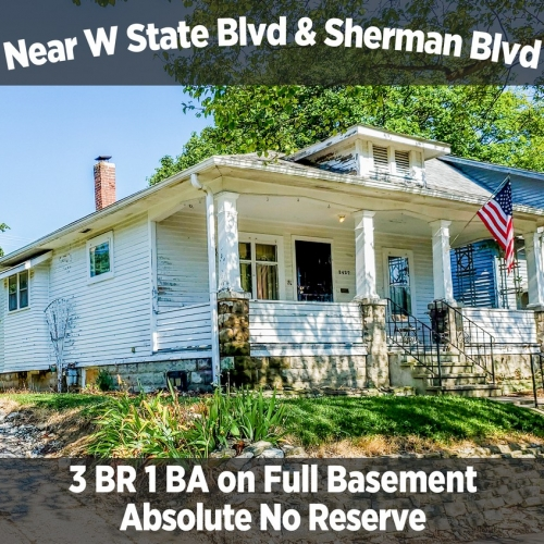 Charming 3 Bedroom 1 Bathroom Home Near W State Blvd & Sherman Blvd