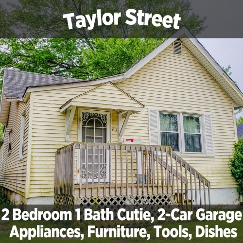 Charming 2 Bedroom 1 Bath Cutie on Taylor Street