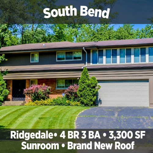 Beautiful 4 Bedroom 3 Bath Home in Ridgedale, South Bend