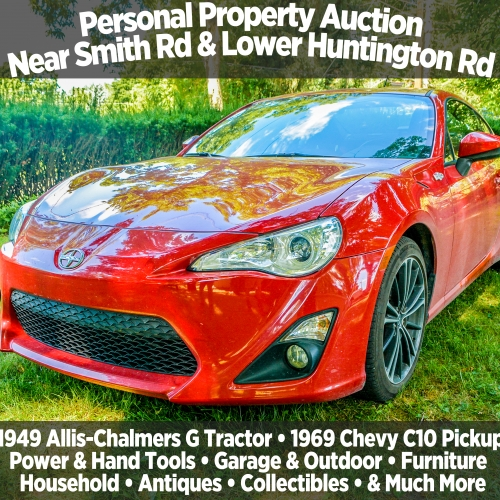 Personal Property Auction Near Smith Rd & Lower Huntington Rd