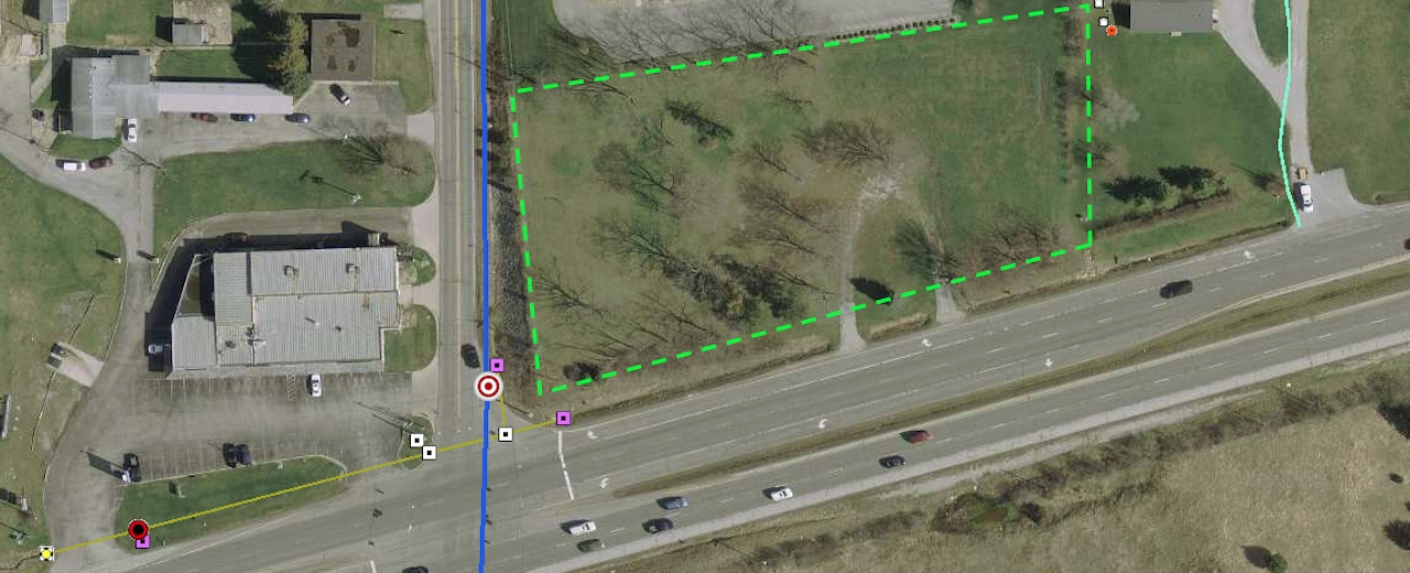 Real Estate Auction Acres In Southwest Fort Wayne - Us 24 map