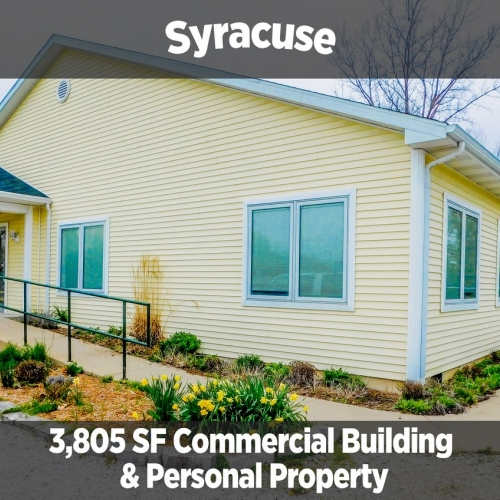 3,805 SF Commercial Building & Personal Property