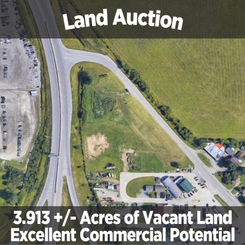 3.913 +/- Acres For Auction off Goshen Road