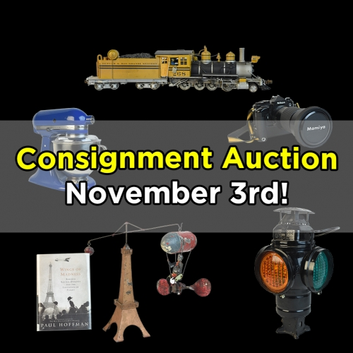 Scheerer McCulloch Auctioneers November 2018 Consignment Auction