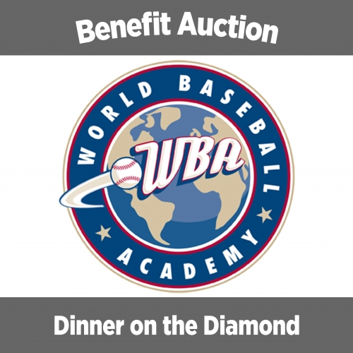 1st Annual Dinner on the Diamond Fundraising Event