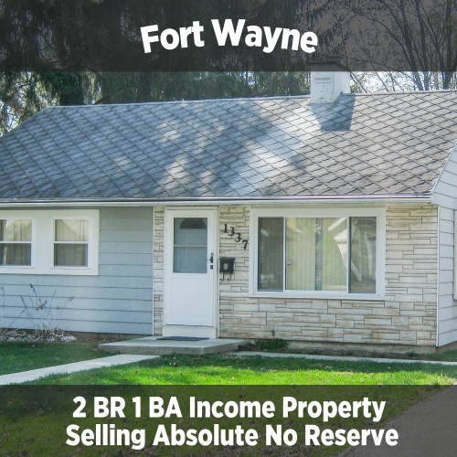2 Bedroom 1 Bathroom Income Property
