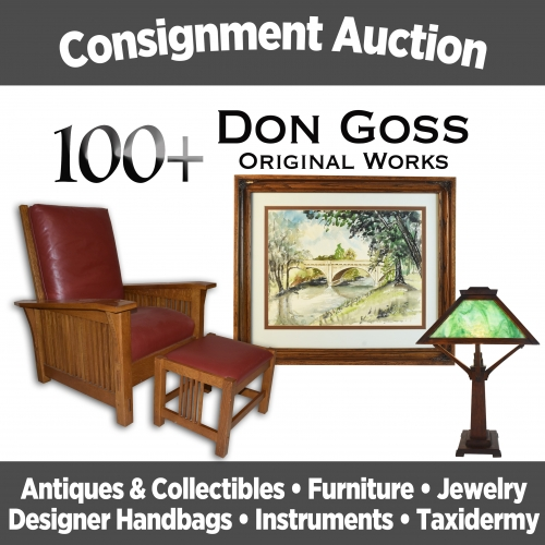Scheerer McCulloch Auctioneers Sept 29th Consignment Auction