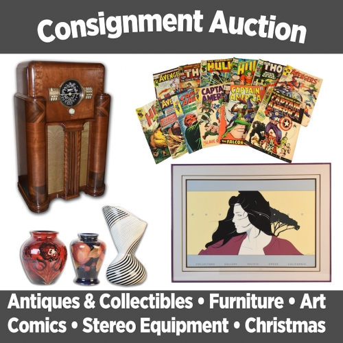 Scheerer McCulloch Auctioneers Nov 2nd Consignment Auction