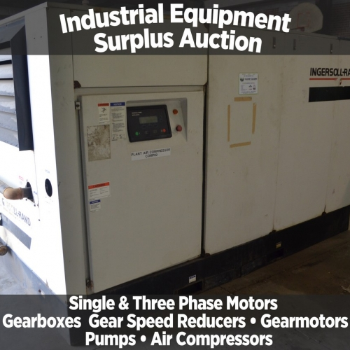 Industrial Equipment Surplus Auction - Wayne Vaughn Equipment Co Inc.