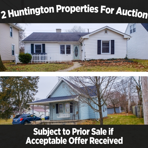 2 Huntington Properties For Auction