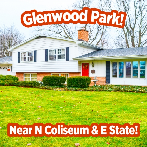 4 bedroom 2.5 bath tri level home with attached garage near N. Coliseum Blvd and E. State Blvd