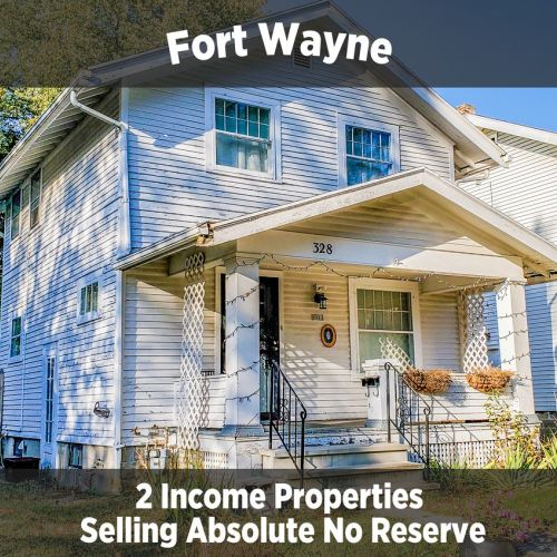 2 Income Properties Selling in Multi Parcel Auction